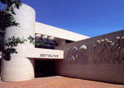 Pueblo City Schools Administration Building - Entrance View